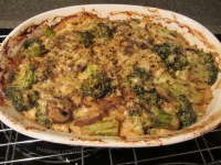 Casserole after allowing crust to form.