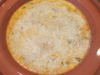 Toasted Panko sprinkled over casserole.