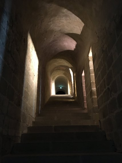The so-called Ranulphe staircase