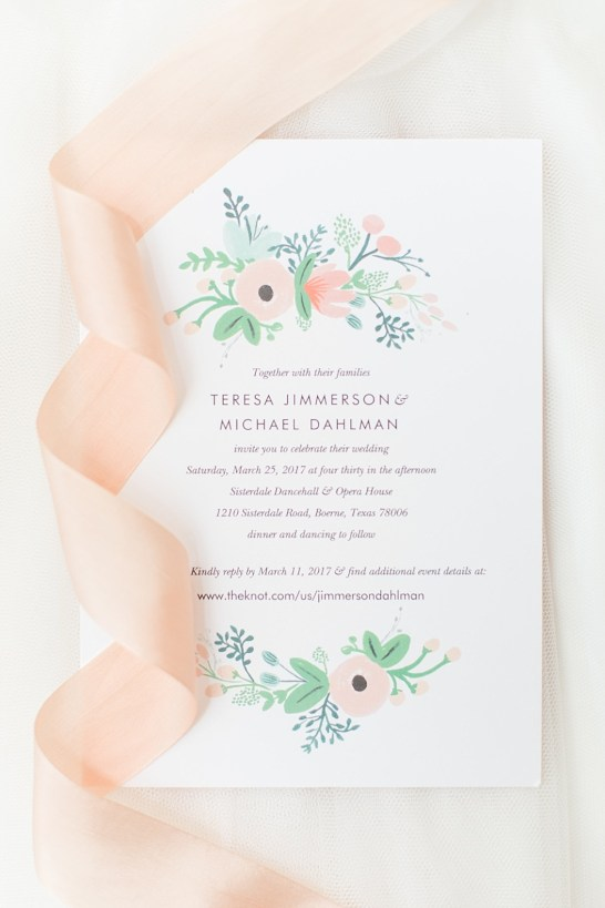 A Modern Sisterdale Dancehall Wedding in Boerne Texas by Allison Jeffers Wedding Photography featuring a sage, burgundy, and pale pink color palette 0004