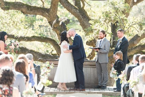 A Modern Sisterdale Dancehall Wedding in Boerne Texas by Allison Jeffers Wedding Photography featuring a sage, burgundy, and pale pink color palette 0029