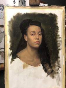 Cesar's final portrait after 2.5 hours
