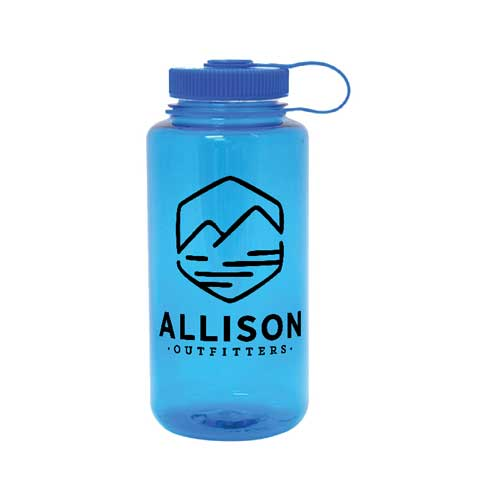 allison outfitters blue nalgene bottle