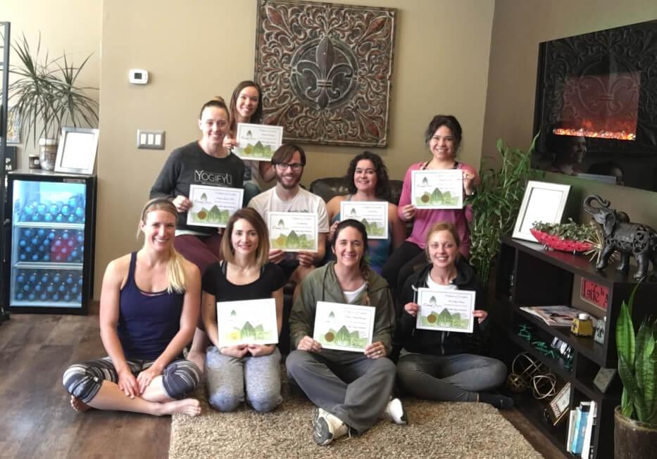 Minot ND Yoga Teacher Training Allison Rissel