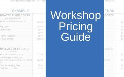 Workshop Pricing Guide