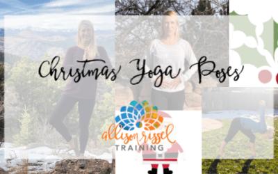 3 Poses for a Christmas Yoga Class