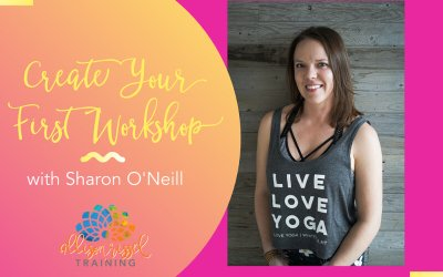 Create Your First Yoga Workshop