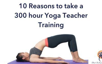 10 Reasons 300 Hour Yoga Teacher Training