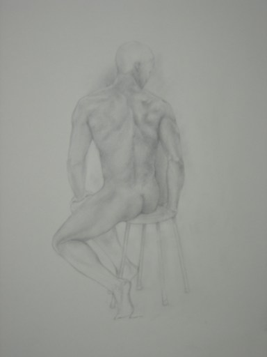 Study for an Athlete