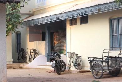 Early morning at Ramanashram, Tiruvannamalai, India