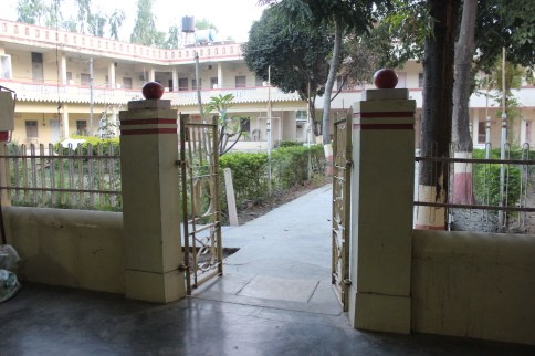 Malav ashram in Gujarat, India.