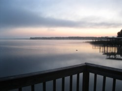 Amrit Yoga Institute sits on the shores of beautiful Lake Kerr in Florida