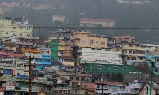 COONOOR, India. A bustling little mountain town in India.