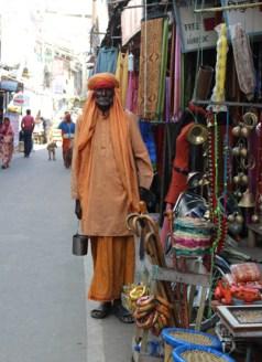 Holy man in Pushkar.