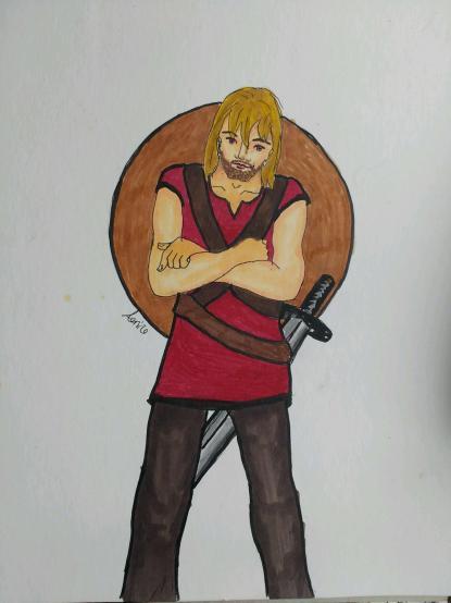 Xander Portmanteau, roguish rogue of the kingdom of Landria