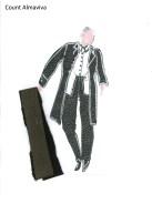 Costume Design - Count (Courtesy of Azzedine Alaïa)
