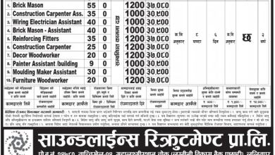 Photo of Job Opportunity  in UAE on Various post