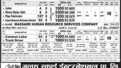Photo of 228 Candidates Required in Saudi Arabia for Various Post
