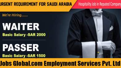 Photo of Golden Opportunity For 35 Candidates To Work In Saudi