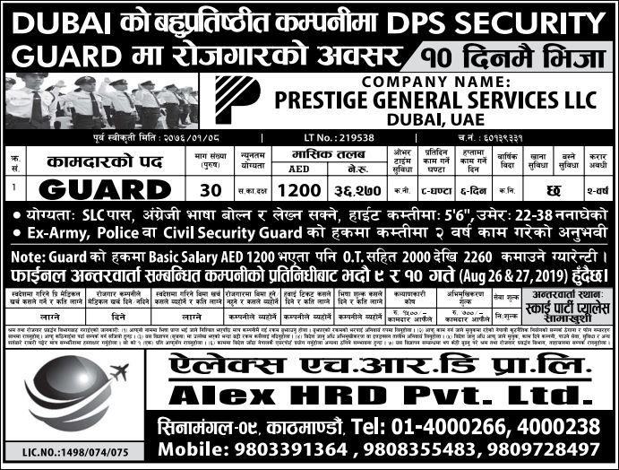 dps security guard