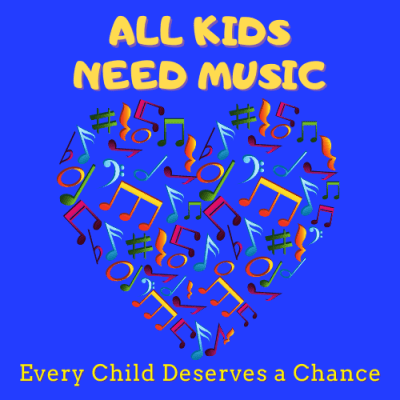 All Kids Need Music, Non Profit, Charity Online Donation