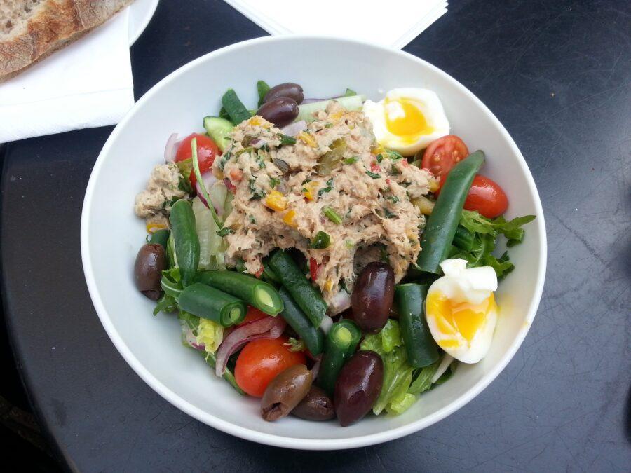 tuna salad recipe with egg relish