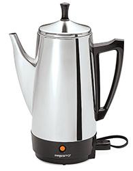 Presto Stainless Steel Coffee Maker