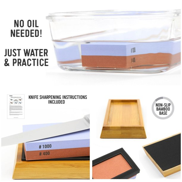 best knife sharpening stone wet stone kit
