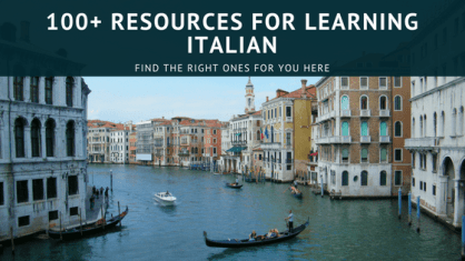 Resources for Learning Italian