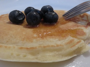 Pancakes sucrés