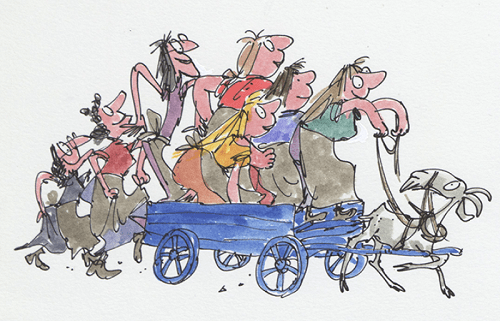 From The Wild Washerwomen © Quentin Blake