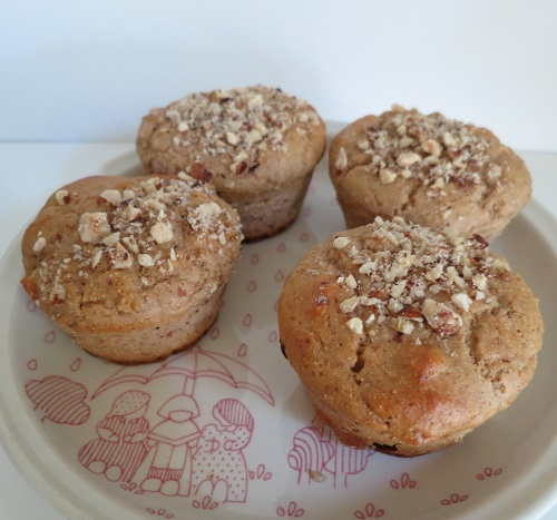8.muffins choco-noisettes