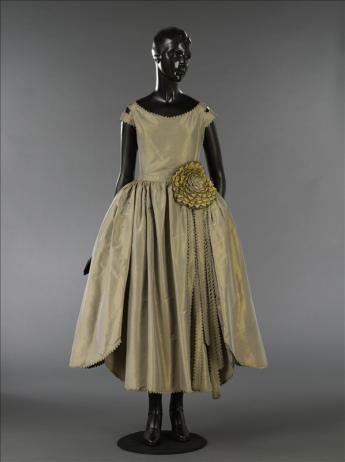 """Robe de style """"Marjolaine"""", Jeanne Lanvin. Été 1920. Palais Galliera, musée de la Mode de la Ville de Paris -"""