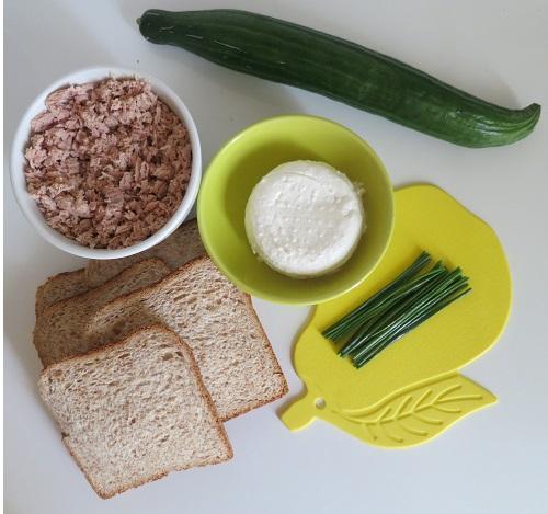 Sandwiches concombre 1