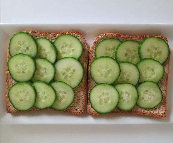Sandwiches concombre 3