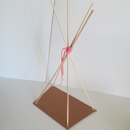 12.DIY INDIAN SIPRIT LE TIPI