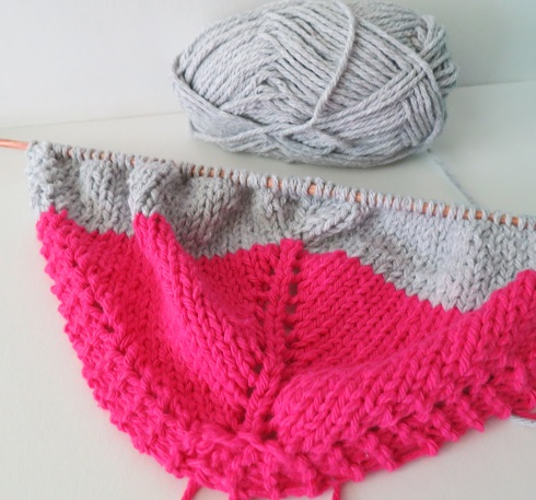 1. Le shawl-dat rose