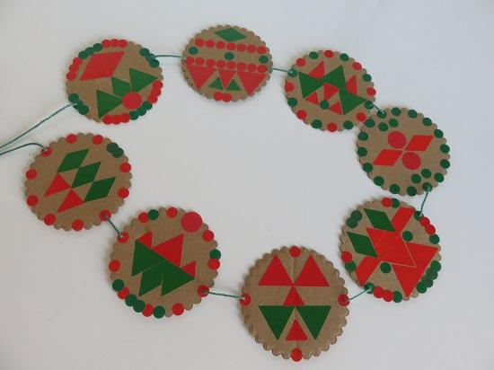12.les guirlandes de Noël