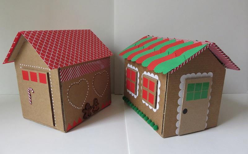 23. maison en carton