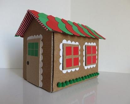 ONE. maison en carton
