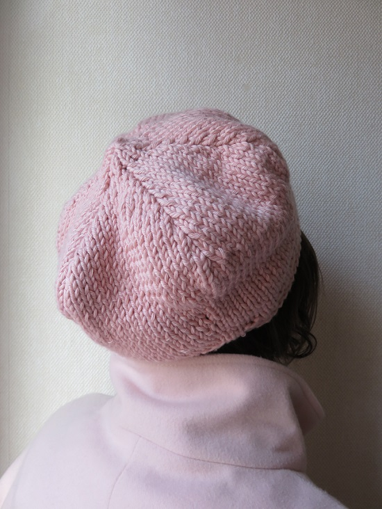 6.bonnet bibi rose