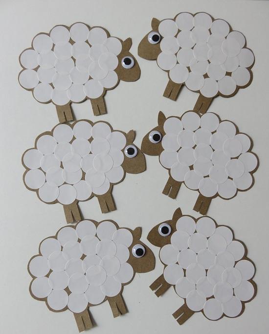 6.Des moutons dans la déco