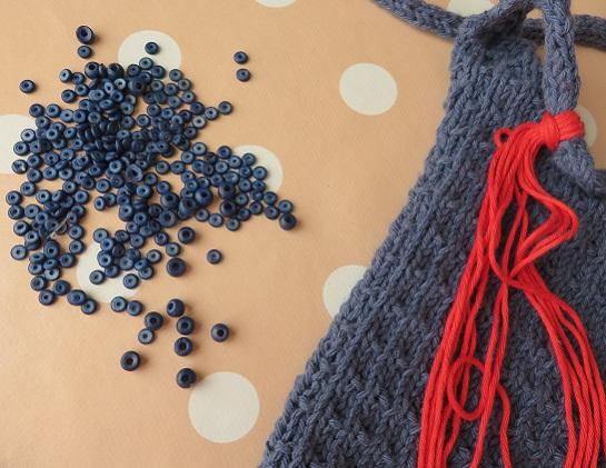 17.Sac tricoté