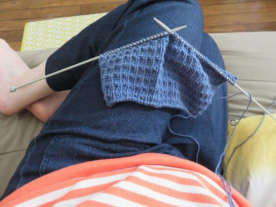 2.Sac tricoté