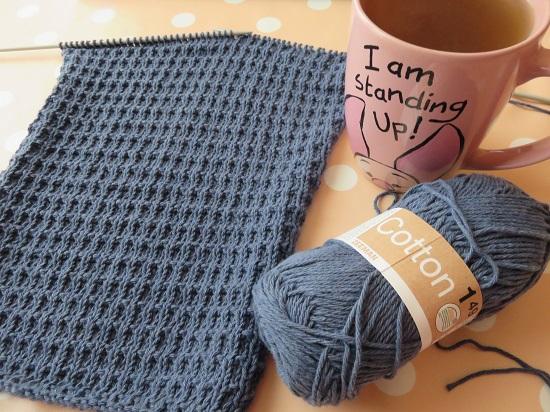 5.Sac tricoté