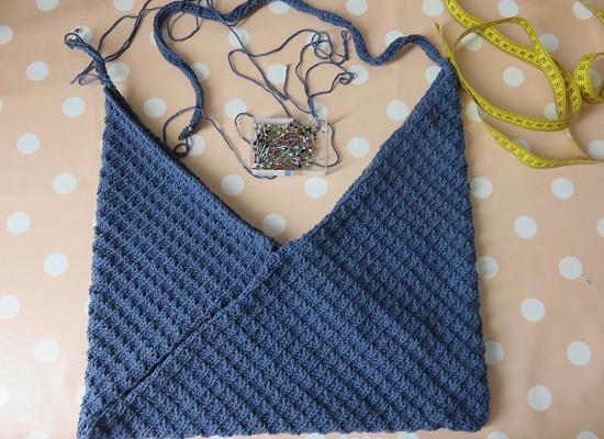 8.Sac tricoté