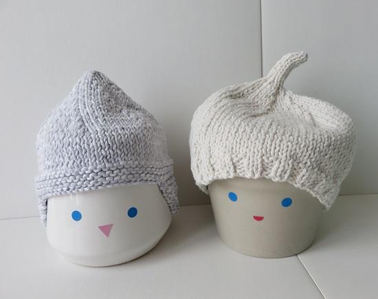 16.Duo de bonnets pour bébé