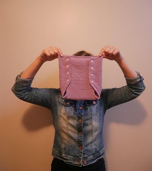 10.culotte tricotée