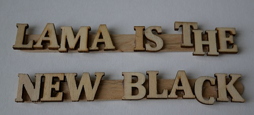 12.lama is the New Black