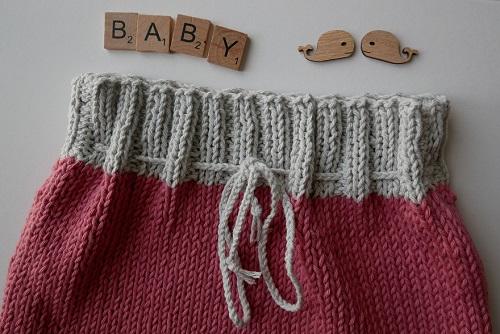 13.pantalon tricoté